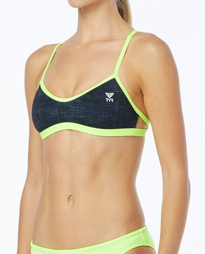TYR Modena Pacific - Bikini Femme - jaune/rouge S 2018 Maillots de bain Vente Pas Cher Confortable BVAoL